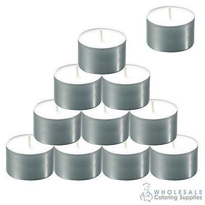 50x Tealight Candles 9 Hour Duration Tea Light Candle Food Warmer Decoration