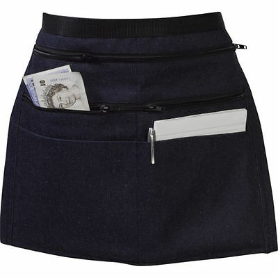 Heavy Duty Market Stall Trader Money Pouch Apron Car Boot Waiters Zip Pockets