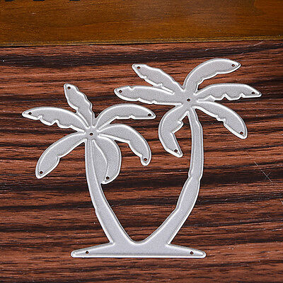 Coconut Tree Cutting Dies Stencil DIY Scrapbooking Embossing Album Card Craft