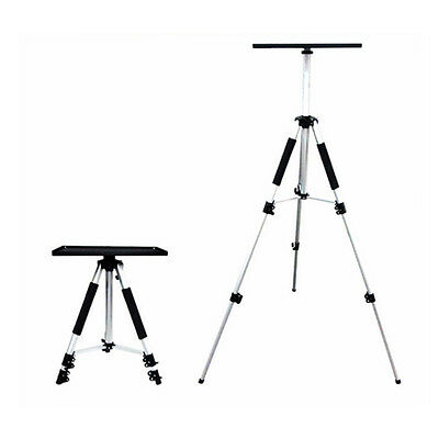 Projector Stand Portable Tripod Adjustable Notebook Aluminium 55-140cm upto 10kg