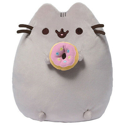Gund Pusheen with Donut Soft Toy NEW