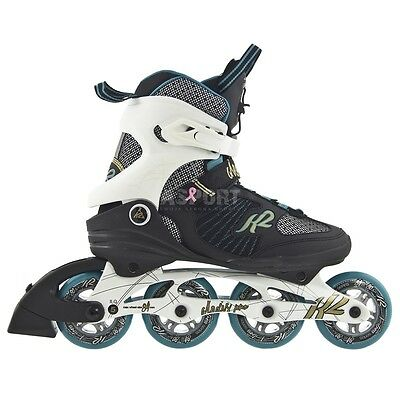 Women fitness inline skates K2 Alexis Pro 84 speed lacing 84mm/80A