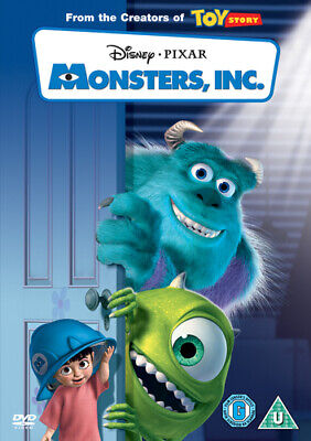 Monsters, Inc. DVD (2002) Pete Docter cert U Incredible Value and Free Shipping!