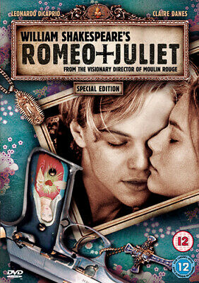 Romeo and Juliet DVD (2002) Leonardo DiCaprio