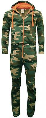 Unisex Adults Camouflage Onesie| Camo All in One Jumpsuit (not gerber)