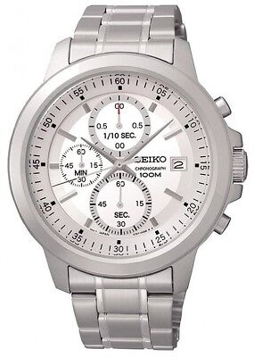 SCNP SKS441P1 Seiko Gents Chronograph Stainless Steel Bracelet Watch