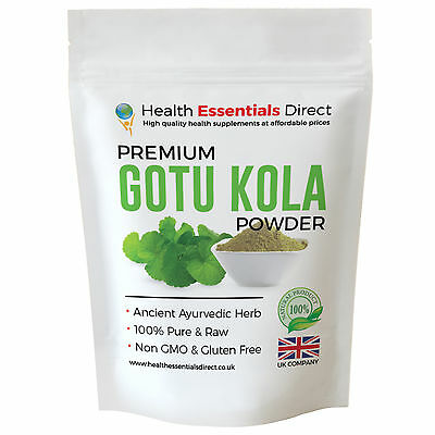 Premium Gotu Kola Powder (The Healing Herb, Brain Health, Anxiety) Choose Size: