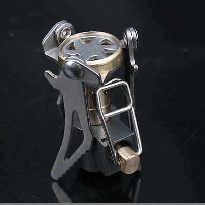 Picnic Cooking Outdoor Camping Hiking Titanium Alloy Stove Gas Furnace Burner