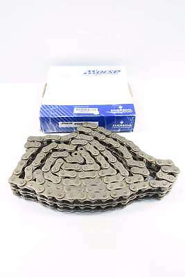 New Morse 127736 80-2R 1 In 10Ft Double Strands Riveted Roller Chain D558355