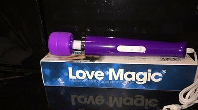 love magic big wall massager purple 30 function, size 32 cm