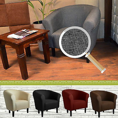 Sessel Clubsessel Loungesessel Coctailsessel Monaco 2 Sawanna FORTISLINE