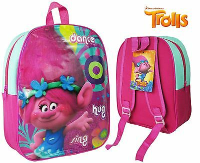 Dreamworks Trolls Poppy Backpack Holiday School Bag