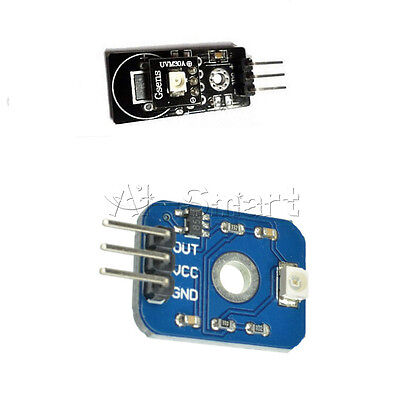 Black / Blue UVM-30A UV Ultraviolet Ray Detection Sensor Module 3-5V for Arduino