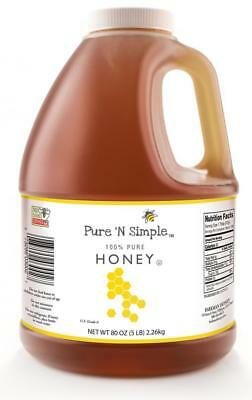 Natural Raw 2016 Honey From Wild Fields And Forests Of Lithuania 80 Oz