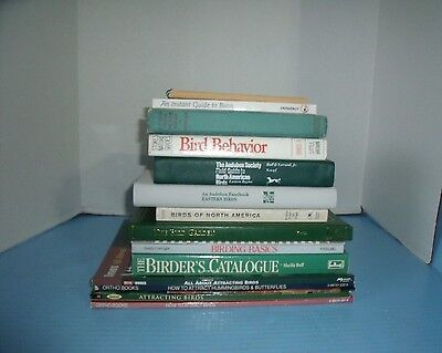 Lot Of 16 Birding Books Identification Guides How To Attrach Birds Petersons