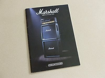 1998 Marshall Amplification Guitar Products Catalog