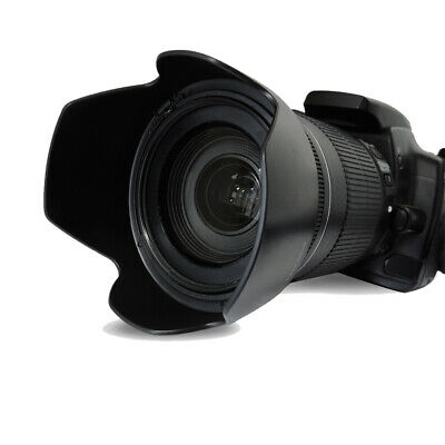 58mm Hard Tulip Shaped Lens Hood For canon 18-55, 70-300, 75-300, 55-250