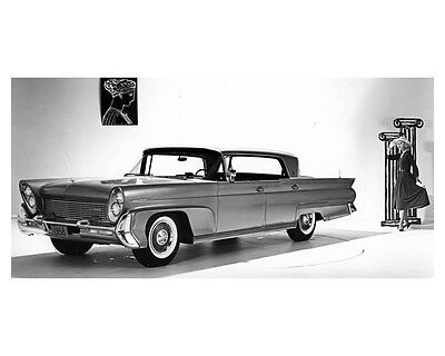 1958 Lincoln Continental ORIGINAL Factory Photo oub5224