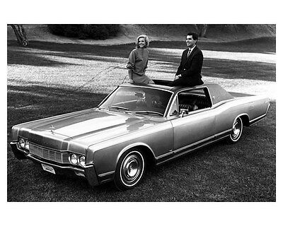 1967 Lincoln Continental ORIGINAL Factory Photo oub5235
