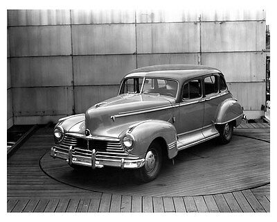 1946 Hudson Commodore 8 Four Door ORIGINAL Linen-Backed Factory Photo oub5356