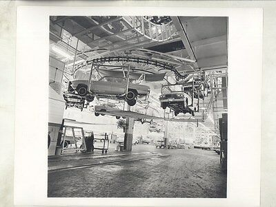 1961 Buick Special on Factory Assembly Line ORIGINAL Factory Photograph ww8055