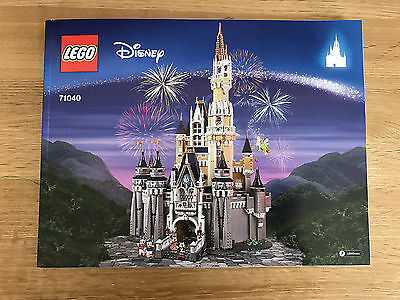 LEGO DISNEY - 71040 The Disney Castle - INSTRUCTION MANUAL ONLY