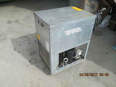 Temptek water chiller CF-1A USED AS-IS FOR PART OR OTHER