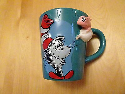 Dr. Seuss Cat In The Hat Plus Fish Vandor Collectible Mug Cup