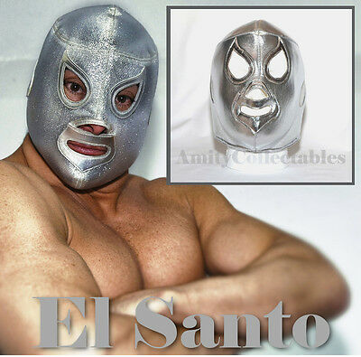 'EL SANTO' Pro-Fit Foam MEXICAN WRESTLING MASK  [WWE, Fancy Dress, Halloween]