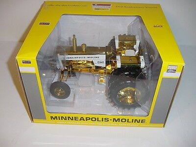 "1/16 Minneapolis Moline G940 ""Yellow Chrome"" Toy Tractor Times! Last One!"