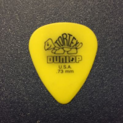 Rich Meyer Highly Suspect Concert Used Guitar Pick Guitarist Rock Star Rare