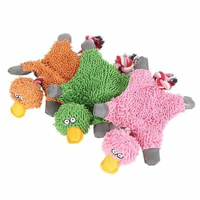 Funny Pet Puppy Chew Squeaker Squeaky Plush Sound Duck For Dog Playing Toys Cute