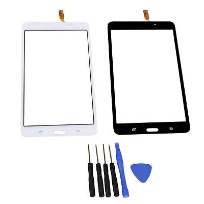For Samsung Galaxy Tab 4 SM-T230 7'' Touch Screen LCD Digitizer Glass Lens Tools