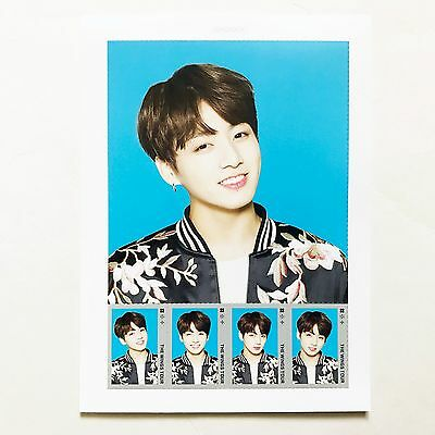 2017 BTS Live Trilogy Episode III The Wings Tour in Seoul Postage Stamp Seal