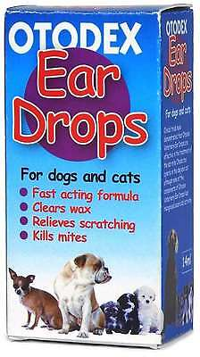 Petlife Otodex Veterinary Eardrops for Pets, 14ml And Relief From Scratching