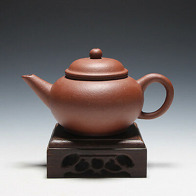 5000friend-China Yixing Old 1st Zisha Factory Unused Small 150cc ShuiPing Teapot