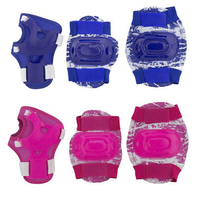 Kids children protectors set knee and elbow pads + wrist guards SPOKEY Aegis