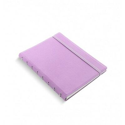 Filofax - A5 Notebook Orchid- Leather Look Organiser