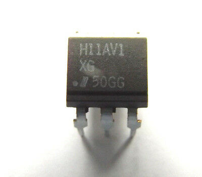 H11AV1 X  ISOCOM Optocoupler DC-IN 1-CH Transistor With Base DC-OUT 6-Pin PDIP