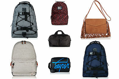 New Superdry Bags Various Styles & Colours