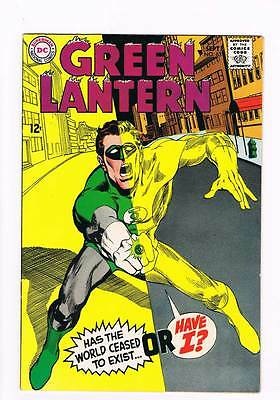 Green Lantern # 63 This Is The Way The World Ends ! grade 8.0 scarce book !!