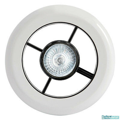 Vent Light Fan with Timer Chrome 100mm