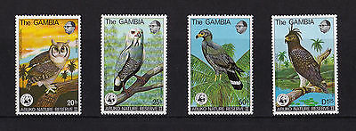 Gambia - 1978 Abuko Nature Reserve (2nd Series) (WWF) - U/M - SG 400-3