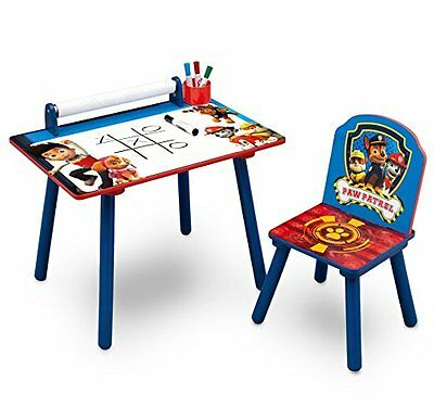 Delta Children Activity Desk With Paper Roll Paw Patrol Bed