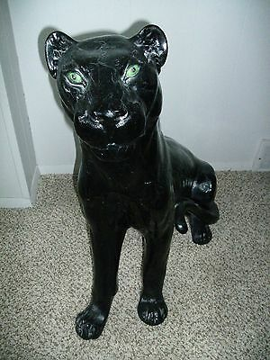 Black Panther Statue 31 Inches Tall and weighing 50 pounds