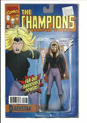 Marvel Champions #3 Darkstar Action Figure Variant 1St Print