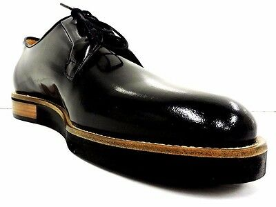 Moods Of Norway Mens Black Leftdal Casual Oxford Size 9-9.5