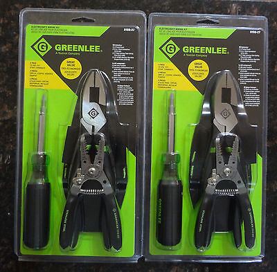 Greenlee Electrician's Wiring Tool Kit ( 2 Sets )