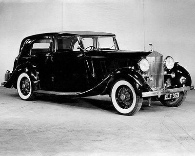 1937 Rolls Royce ORIGINAL Factory Photo oua8951