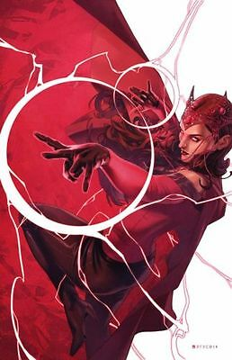 Marvel Scarlet Witch #4 Women Of Power Variant 1St Print
